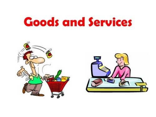 7 Difference between goods and services.