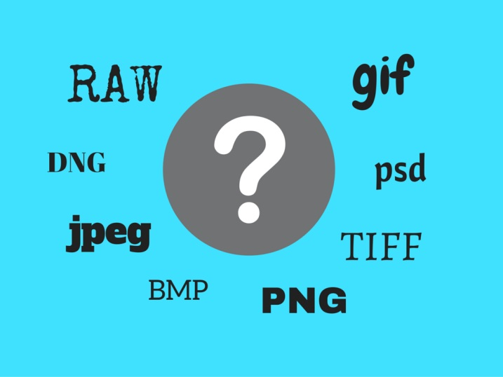Common Image File Formats and Their Differences.