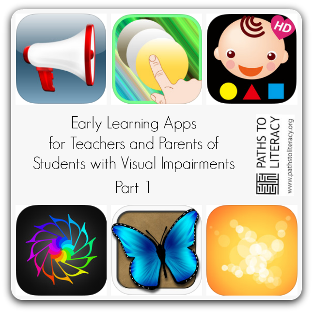 138 Apps for Early Learning for Children Who Are Blind, Visually.