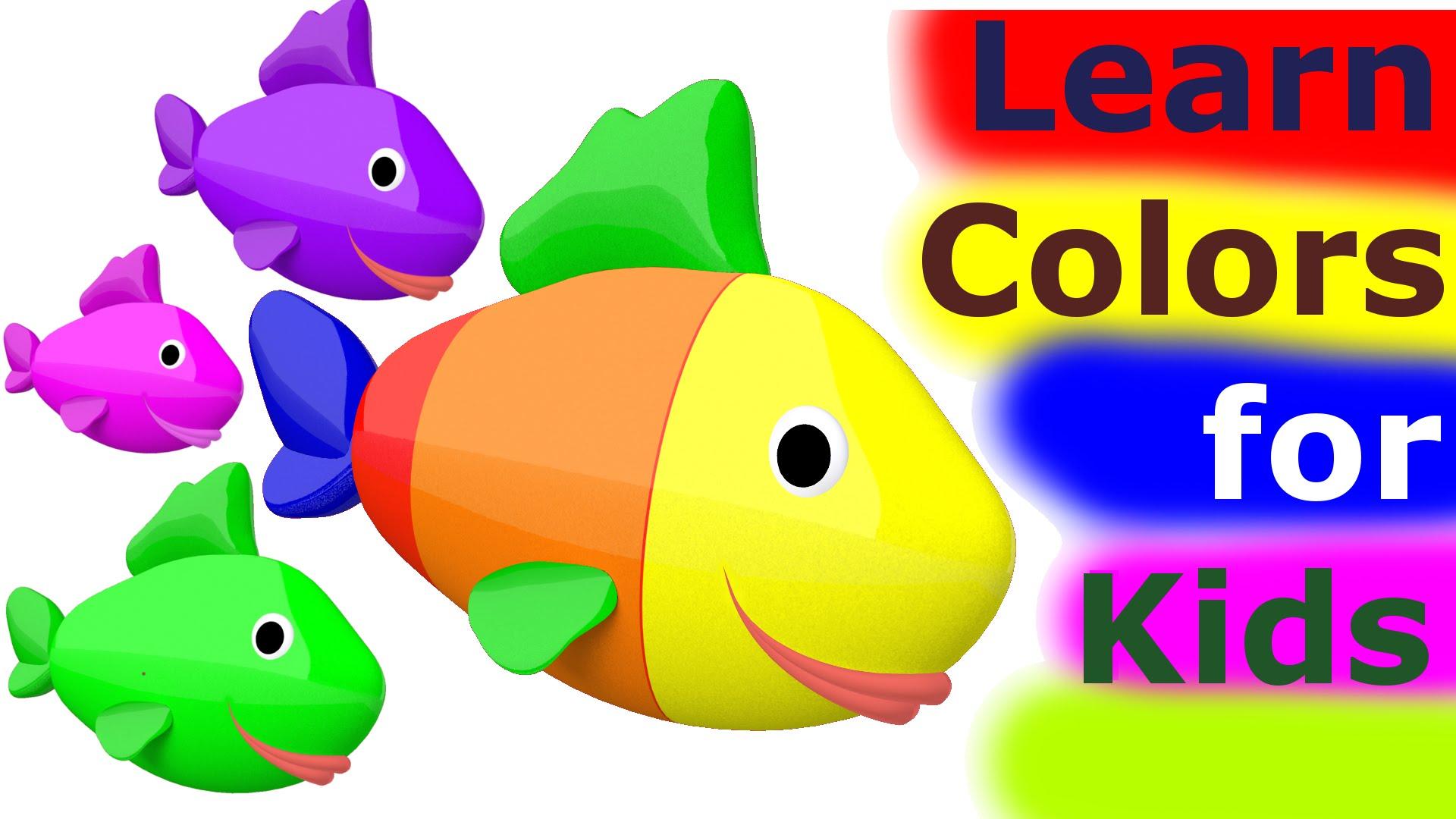 Learn Colors For Kids 3D.