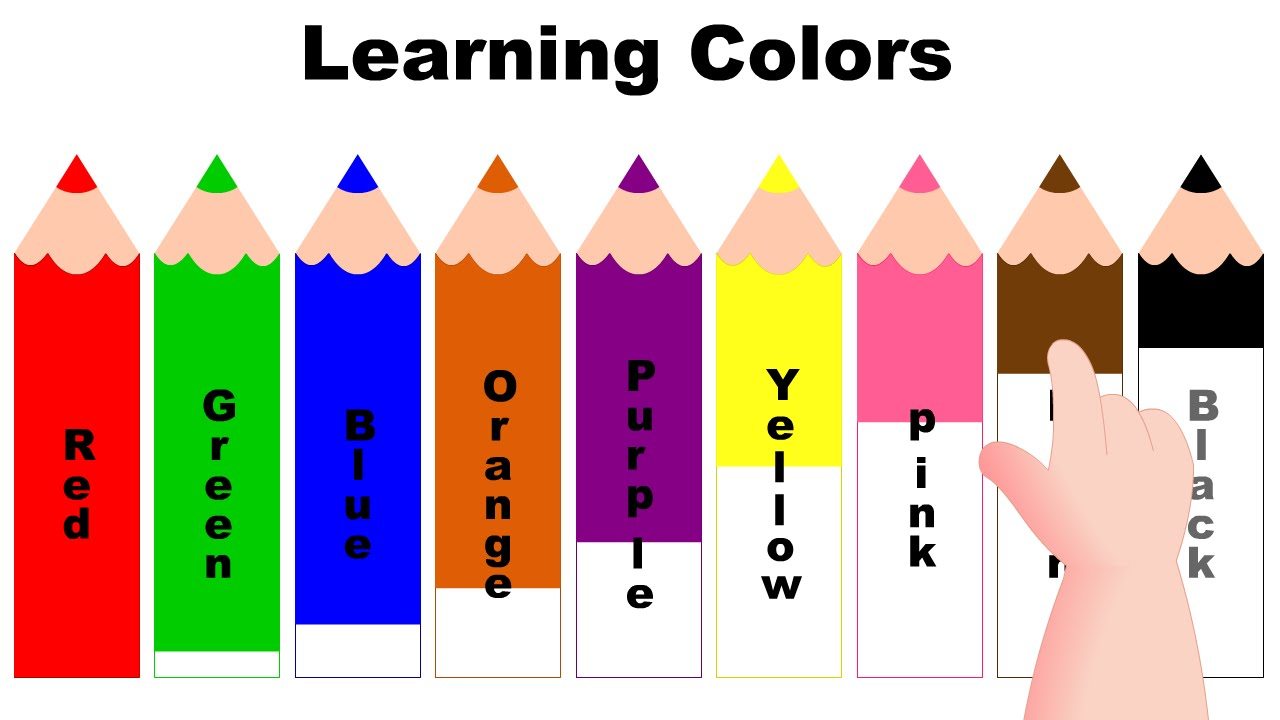 Learning Colors with Color Pencils.