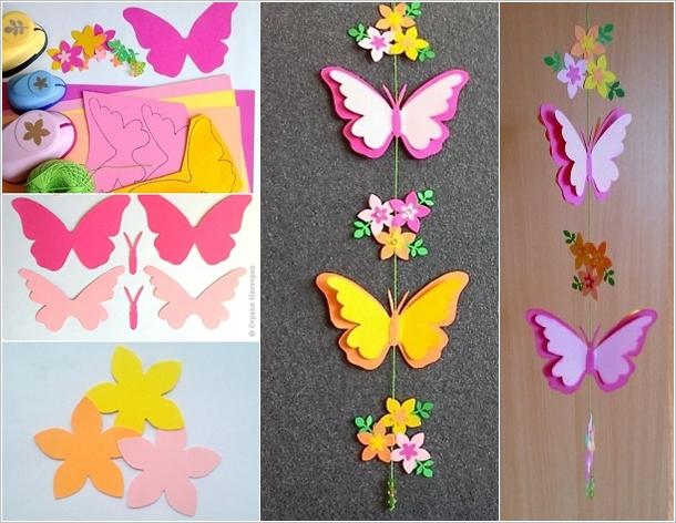 Color Paper Craft For Kids.