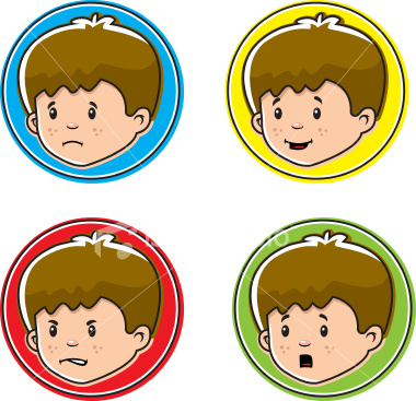 Different emotions clipart 7 » Clipart Station.