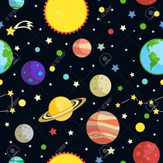 Clipart of galaxies.