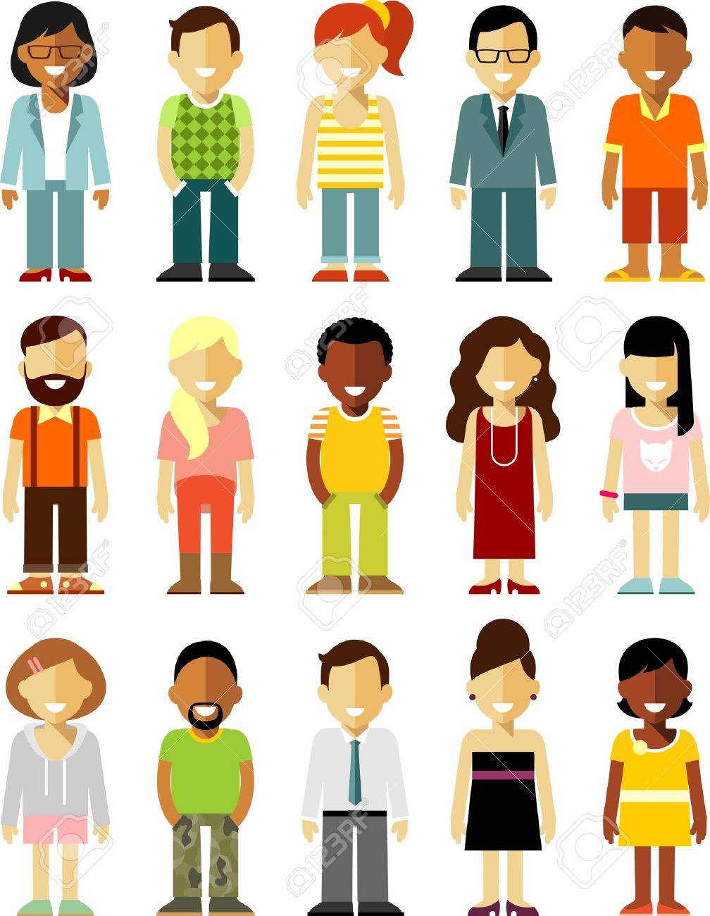 Different People Cliparts Free Download Clip Art.