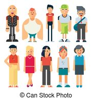 Different types of people Illustrations and Clip Art. 1,174.