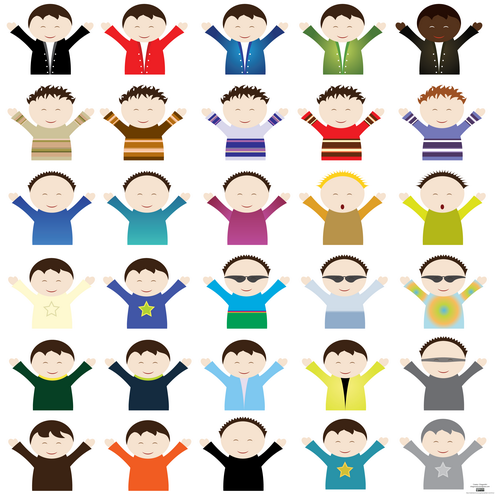 Different Type Of People Clipart.
