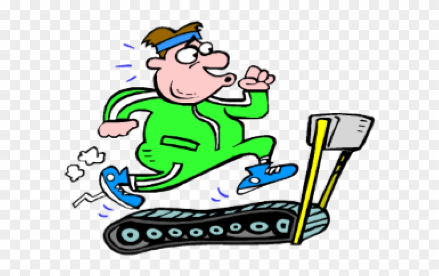 Treadmill Clipart Different Exercise.