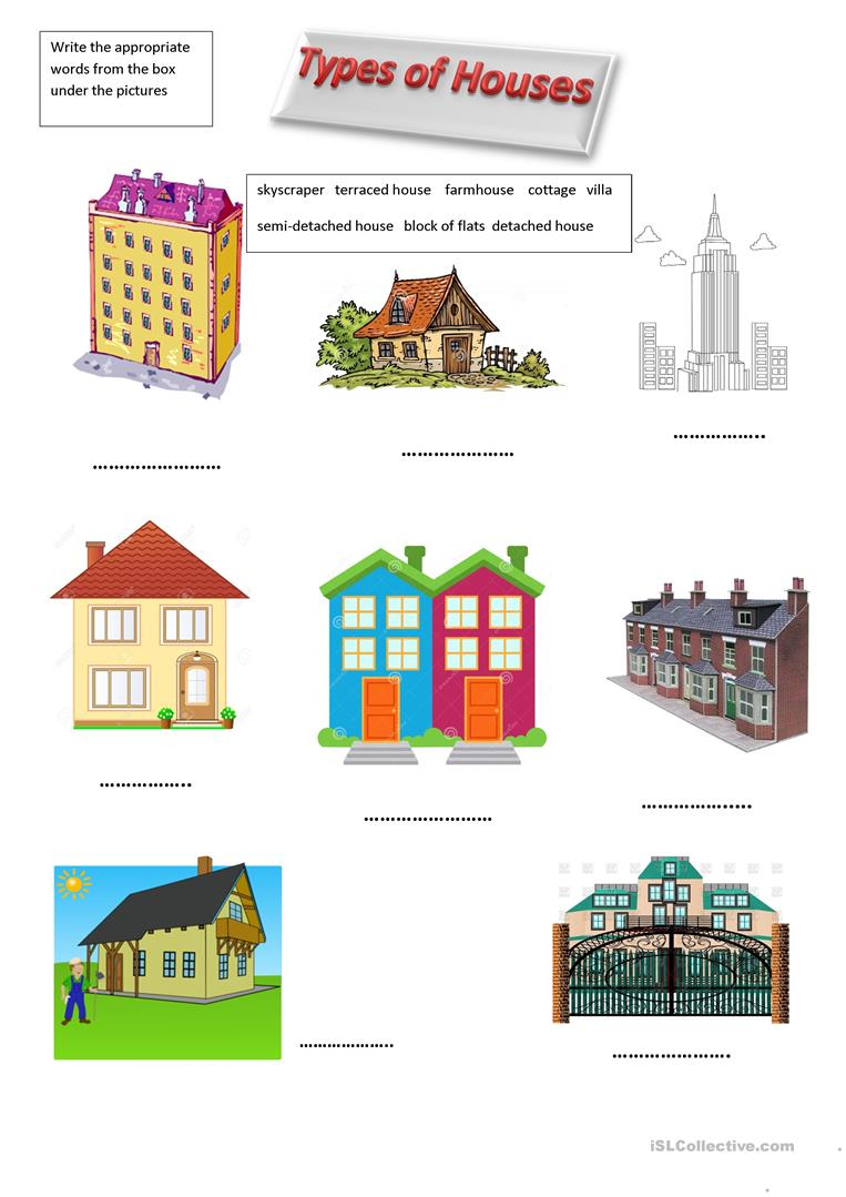 Types of Houses.