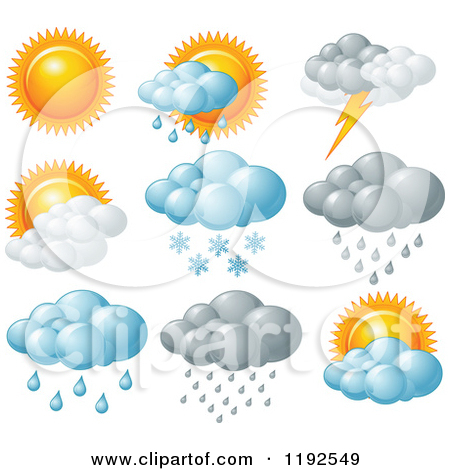 Different Weather Clipart.
