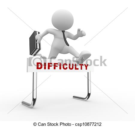 Difficulty Illustrations and Clip Art. 6,389 Difficulty royalty.