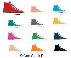 Cleats Vector Clipart Royalty Free. 341 Cleats clip art vector EPS.