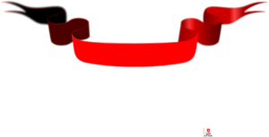 Red Banner With Diffused Ribbon Clip Art at Clker.com.