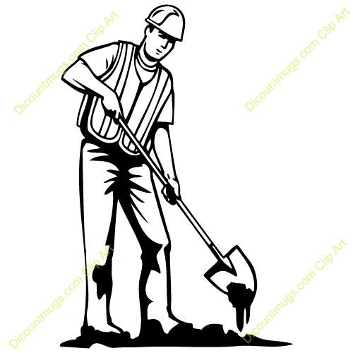 Dig shovel clipart.