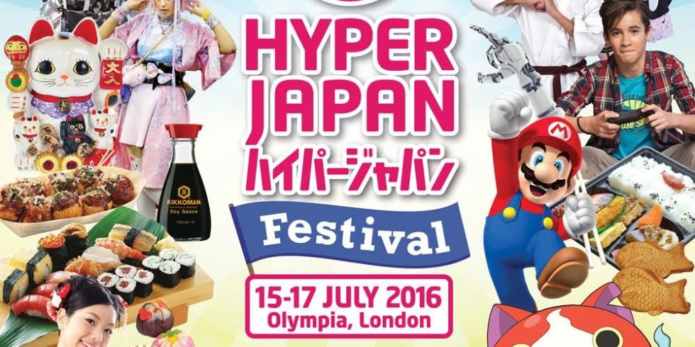 Win two tickets to Hyper Japan with Digital Spy.
