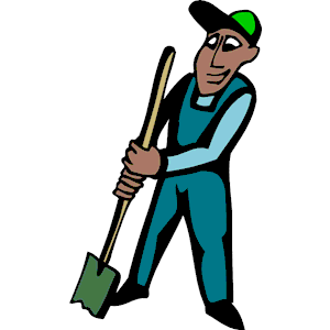 Digging clipart, cliparts of Digging free download (wmf, eps, emf.