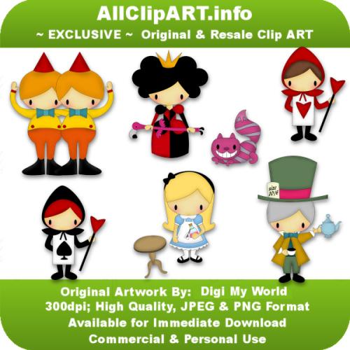 Alice's Wonderland by Digi My World.