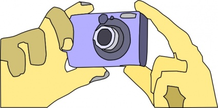 Digital camera icon clip art.
