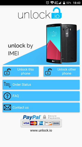 Unlock your LG phone by code APK 2.0 Download for Android.