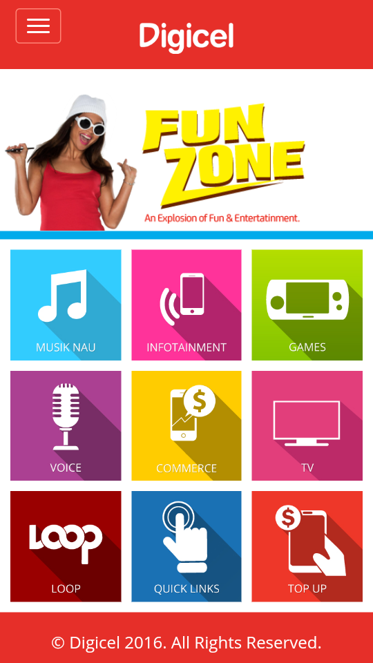 What is Digicel Fun Zone?.
