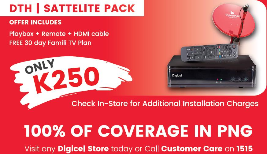 What is Digicel TV Satellite Pack?.