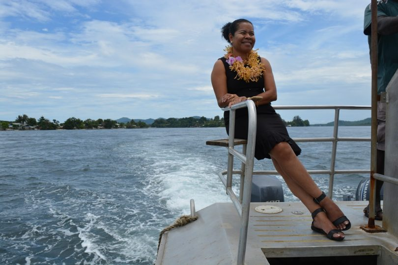 Corporate philanthropy in Papua New Guinea.