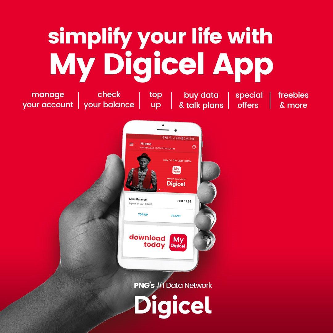 Digicel PNG (@DigicelPNG).