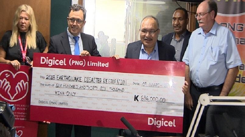 Digicel opens donation line.