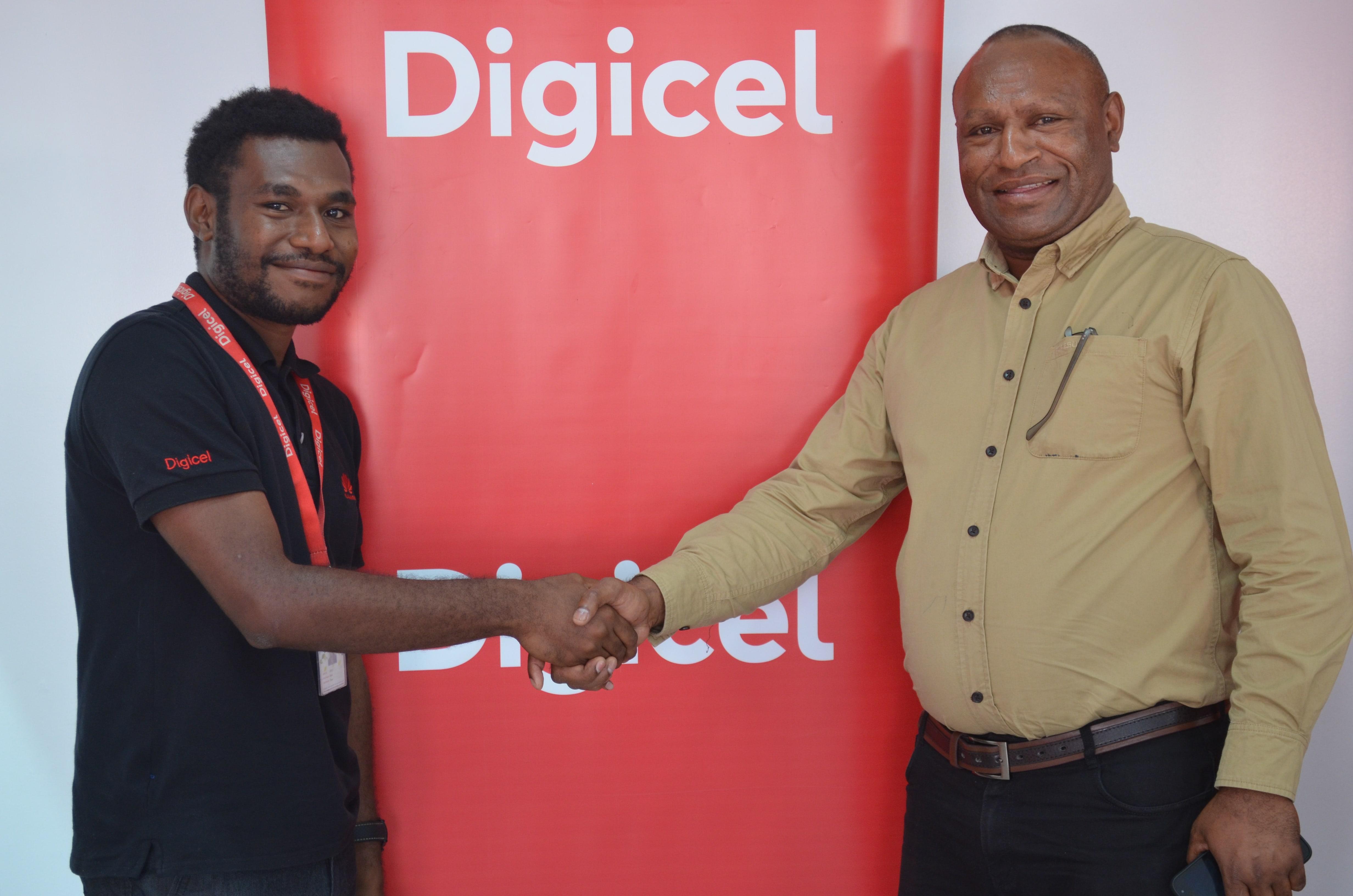 Digicel announces winner for Christmas promotion.