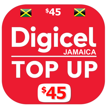 $45 Digicel Jamaica online to up.