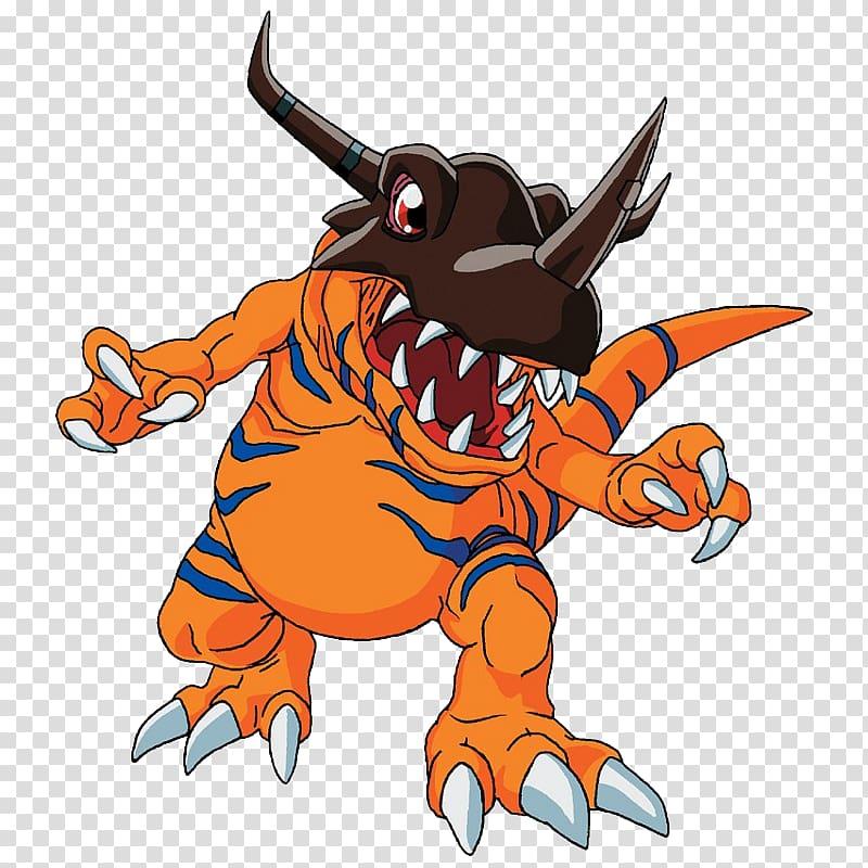 Digimon Greymon illustration, Agumon Digimon World Tai.