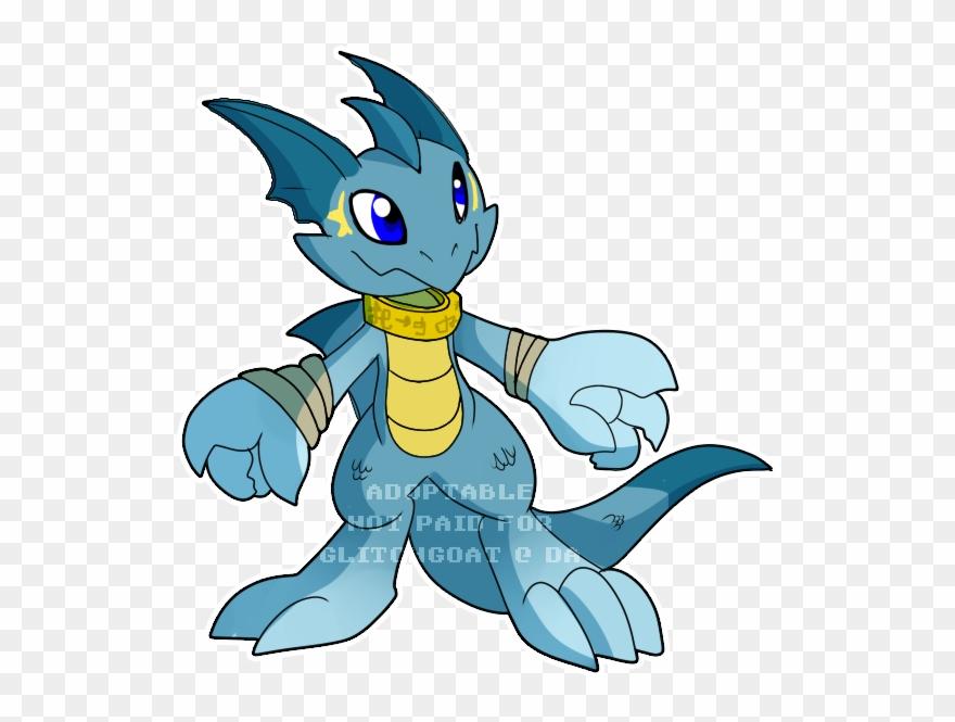 Digimon Clipart Aqua.