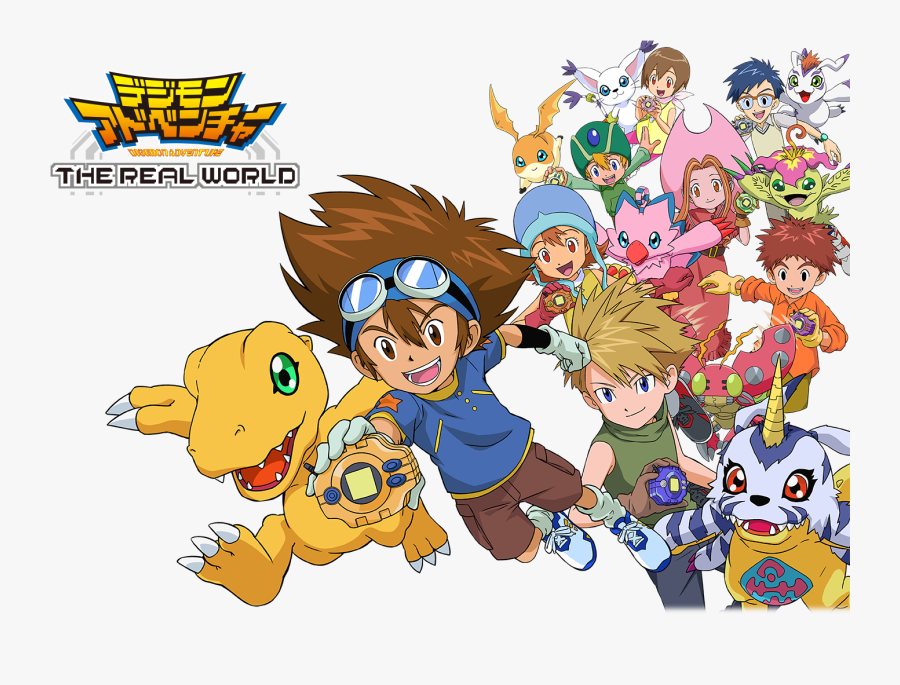 Transparent Digimon Logo Png.