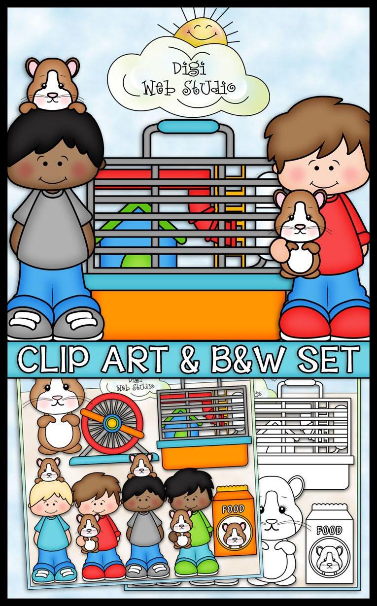 4487 Pet free clipart.