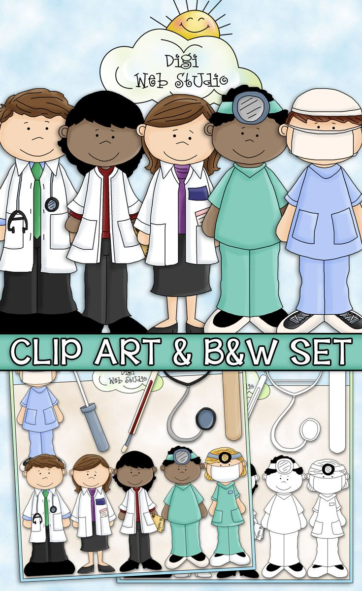 A Visit To The Doctor Clip Art.