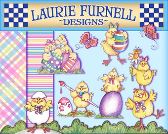 View Digital Art Kits by LaurieFurnellDesigns on Etsy.