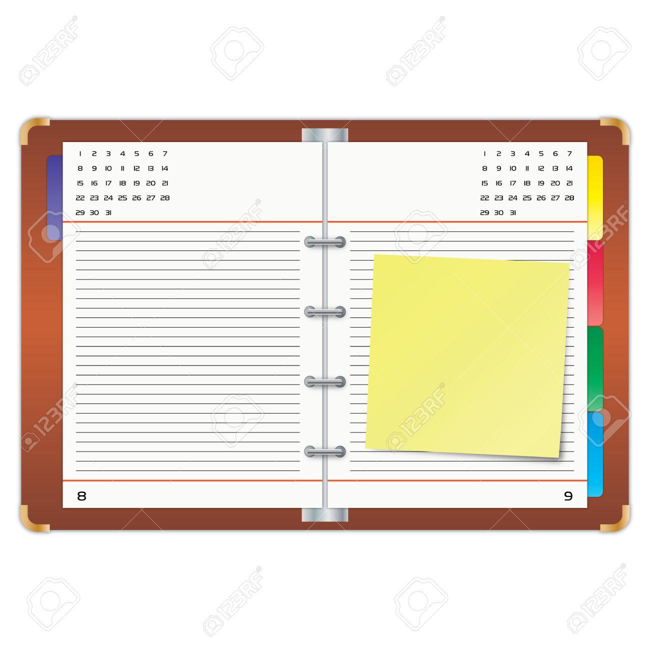 Binder clipart planner, Binder planner Transparent FREE for.