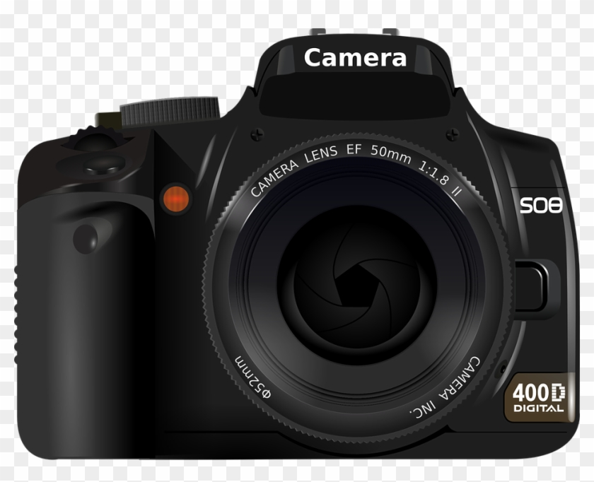 Photographer Camera Clipart.