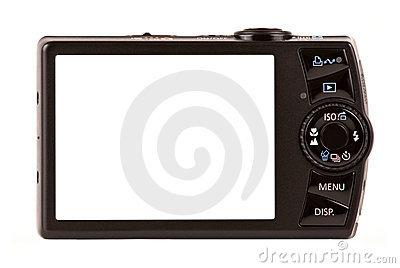 Digital Camera Screen Clipart.