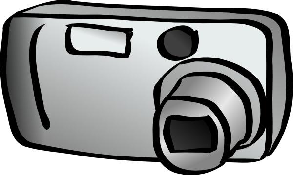 Digital Camera clip art Free vector in Open office drawing.