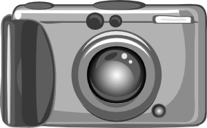 Digital Camera clip art (116342) Free SVG Download / 4 Vector.