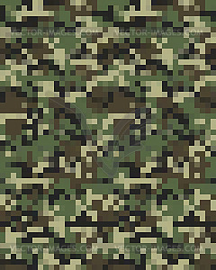 Digital fashionable camouflage Seamless.