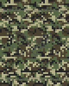 Digital fashionable camouflage Seamless.