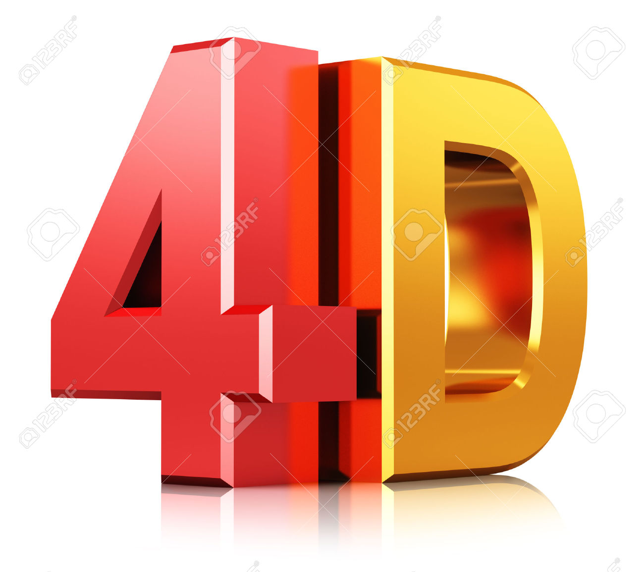 Creative Abstract Four Dimensional Digital Cinema Industry