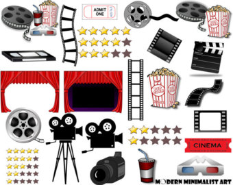 Cinema clipart.