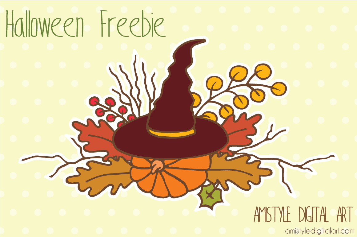 Halloween Clipart Freebie.