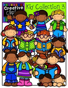KIDS Collection 2 {Creative Clips Digital Clipart}.