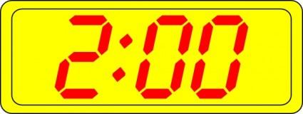 Digital Clock Clip Art Download.
