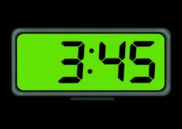 Digital Clock Clipart 3:00 Digital clock 3:00 clip art, Clock Clip.