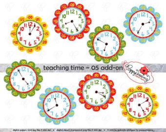 Clock Clipart For Teachers.